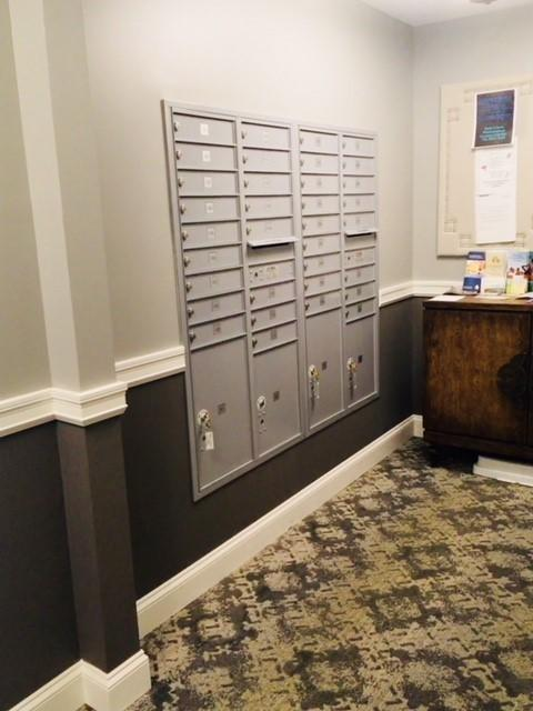 Centrally Located Mailboxes