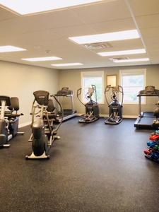 "Fitness Center with ""Life Fitness"" Equipment"