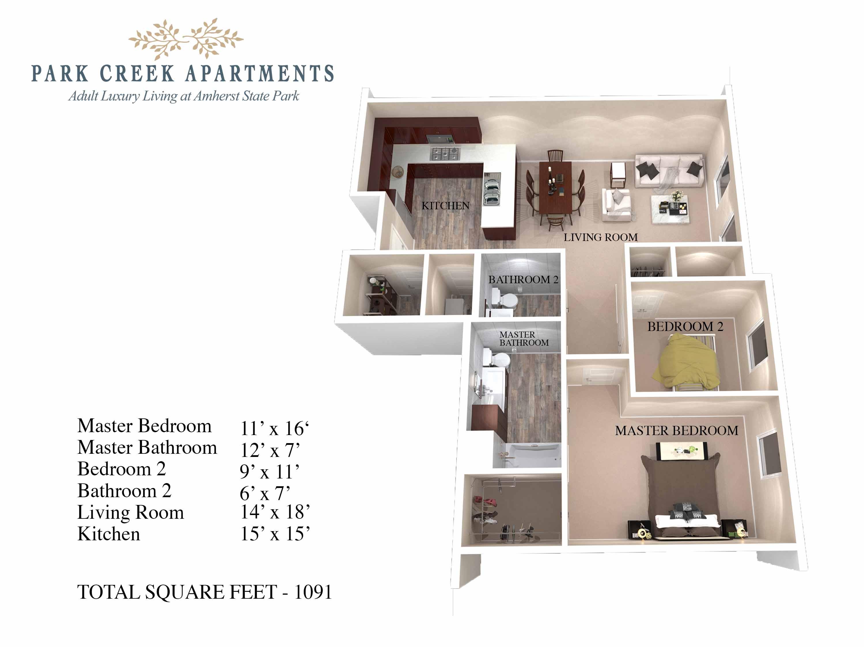 Park Creek Luxury Senior Apartments
